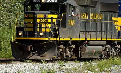 Alaska - Railroad, train, cruisetour